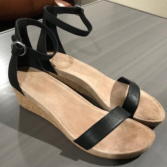 d03262b5824 UGG® Emilia Ankle-Strap Wedge Sandals